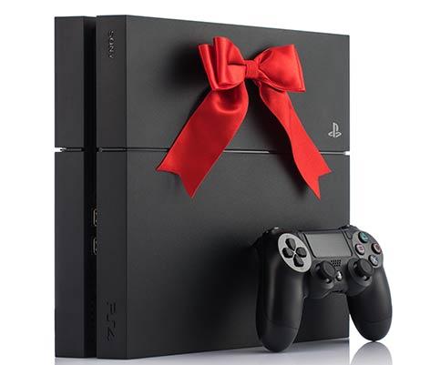 PS4 sa mašnicom i joystick
